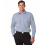 Mens Fine Chambray Long Sleeve Shirt
