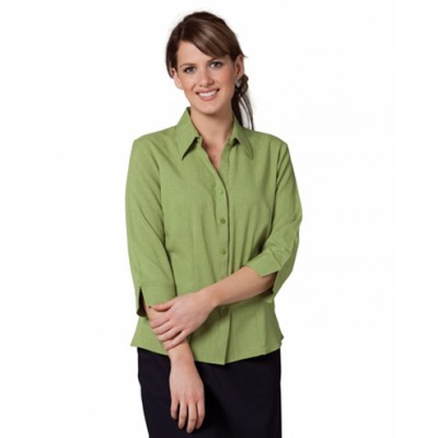 Picture of Ladies CoolDry 3/4 Sleeve Shirt
