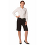 Ladies Poly/Viscose Stretch Knee Length