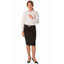 Ladies Wool Stretch Mid Length Lined Pen