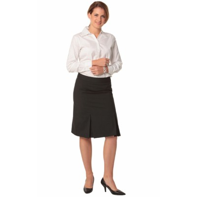 Picture of Ladies Wool Stretch Pleated Skirt