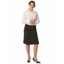 Ladies Wool Stretch Pleated Skirt