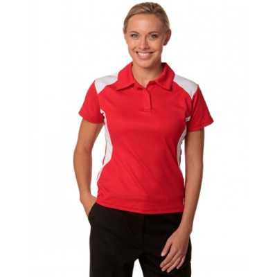 Picture of Lasdis TrueDry Contrast Short Sleeve PoloPolo Shirts