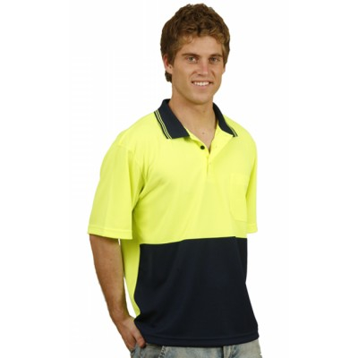 Picture of TrueDry Micro-mesh Safety Polo