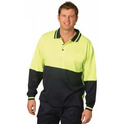 Picture of TrueDry Long Sleeve Safety Polo