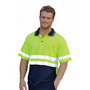 High Visibility Short Sleeve Safety Polo