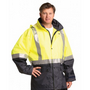 Hi-Vis Two Tone Rain Proof Safety Jacket