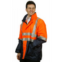 Hi-Vis Three in One Safety Jacket with 3