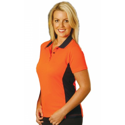 Picture of Ladies Fashion TrueDry Safety Polo