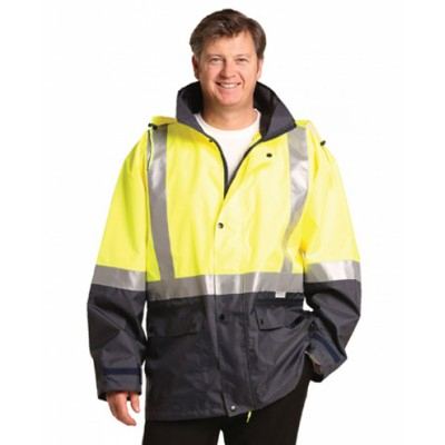 Picture of High Visibility Two Tone Jacket with Qui