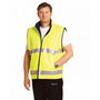 Hi-Vis Reversible Mandarin Collar Safety