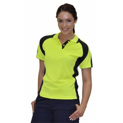 Picture of Ladies CoolDry Safety Polo with Underarm