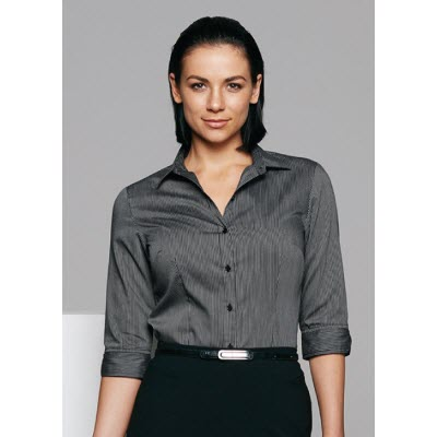 Picture of Henley Ladies 3/4 Shirt