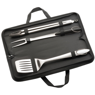 Picture of 3 Piece Stainless Steel BBQ Set