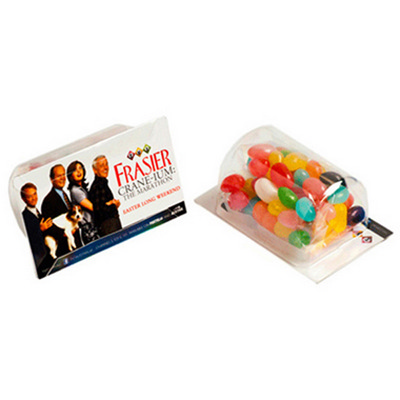 Picture of Biz Card Treats with Jelly Beans