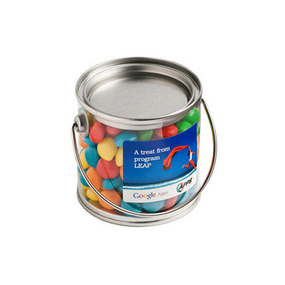 Picture of Small PVC Bucket Filled with Chewy Fruit