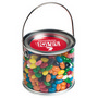 Medium PVC Bucket Filled with Jelly Bean