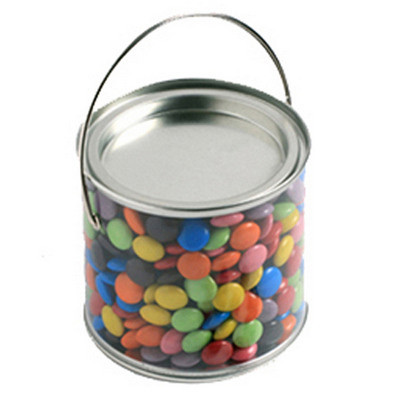 Picture of Medium PVC Bucket Filled with Choc Beans