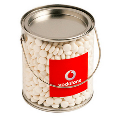 Picture of Big PVC Bucket Filled with With Mints 85