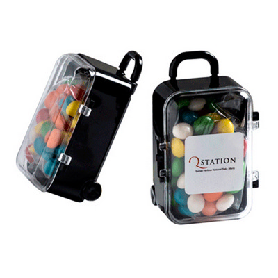 Picture of Acrylic Carry-on Case with Chewy Fruits