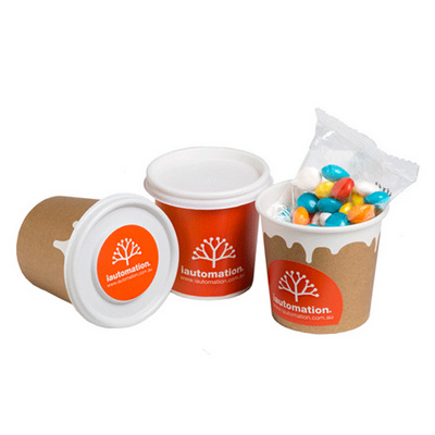 Picture of Coffee Cup Filled with Chewy Fruits (Ski