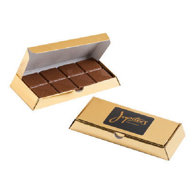 Picture of Gold Bullion Box with Milk Chocolate Bar