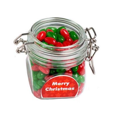 Picture of Christmas Jelly Beans In Canister 200G