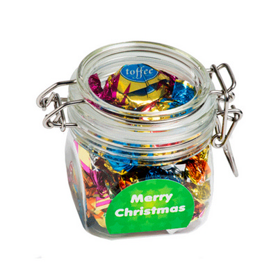 Picture of Christmas Chocolate Eclairs In Canister
