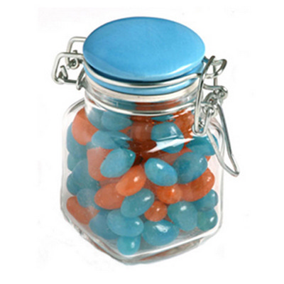 Picture of Jelly Beans in Clip Lock Jar 80G (Mixed
