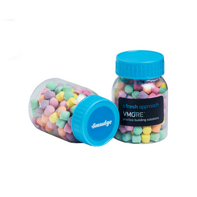 Picture of Baby Jar Filled with Rainbow Lollies 50G