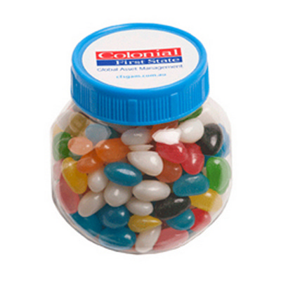 Picture of Plastic Jar Filled with Jelly Beans 170G
