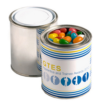 Picture of Paint Tin Filled with Jelly Beans 225G (