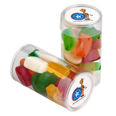 Picture of Pet Tube Filled with Mixed Lollies 95G
