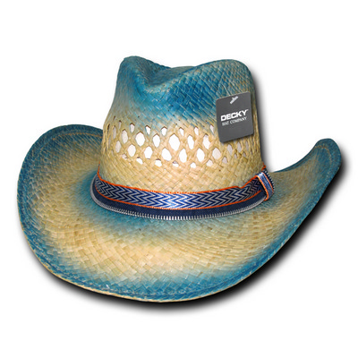 Picture of Sea Breeze Raffia Cowboy Hat