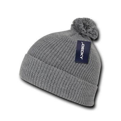 Picture of Pom Pom Acrylic Beanie