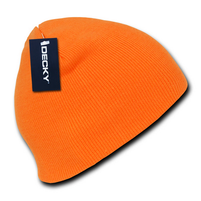 Picture of Neon Acrylic Short Beanie