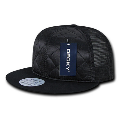 Picture of Quilted Flat Bill Trucker Cap