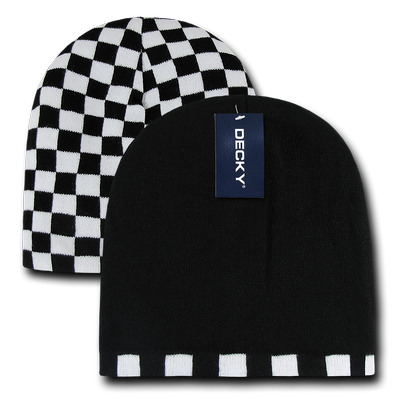 Picture of Checkered Reversible Beanie