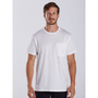 MEN'S POCKET TEE CREW - White