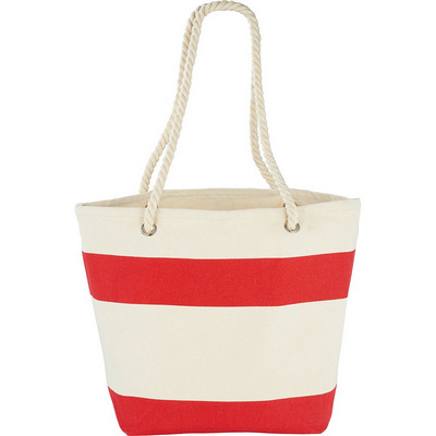 Picture of Capri Stripes Cotton Tote