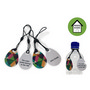 Digital Print Keytag Tear Drop Matt Fini