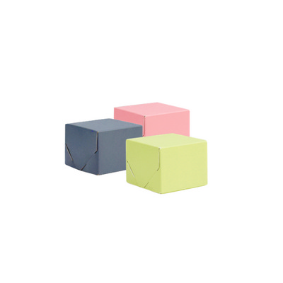 Picture of Baby Square Kraft Gift Box Coloured