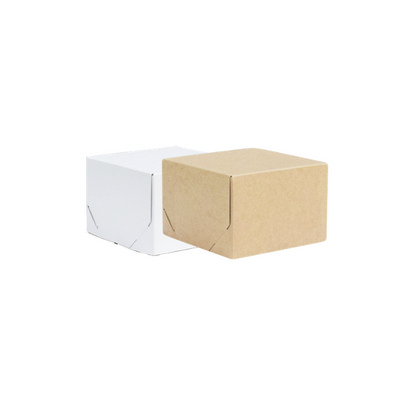 Picture of Junior Square Kraft Gift Box Natural or