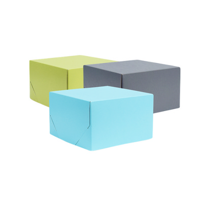 Picture of Small Square Kraft Gift Box Coloured