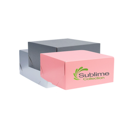 Picture of Medium Square Kraft Gift Box Coloured Pr