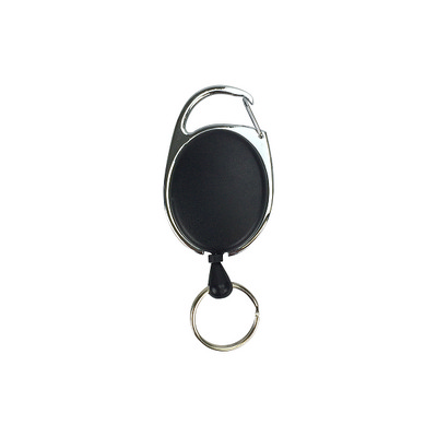 Picture of Deluxe Oval Reel with Keyring Unprinted