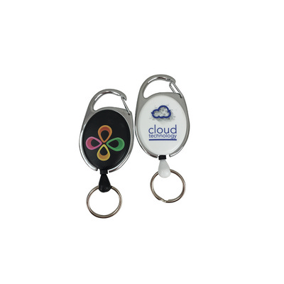 Picture of Deluxe Oval Reel with Keyring Local Digi