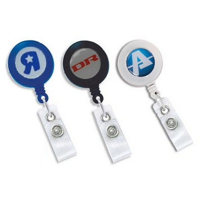 Picture of Yo-Yo Badge Reel with Digital Print and