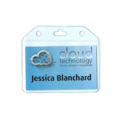 Picture of Business Card Size Small Flexible Badge