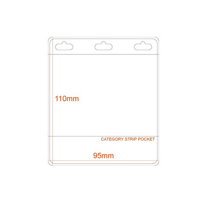 Picture of Business Card Size Name Holder PVC Pocke